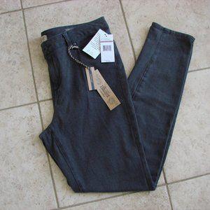 Nine West Charcoal Gray Boho Skinny Knit Jeans NWT